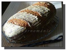 Denní chléb Bread Recipes, Muffin, Cheese, Homemade, Meat, Breakfast, Food, Running, Breads