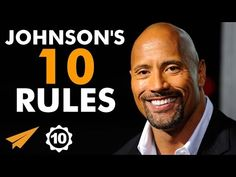 Dwayne 'The Rock' Johnson's Top 10 Rules For Success   How To Improve Your Life…You Can Do It!
