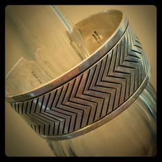"**SALE**Vintage R. Werito Sterling Navajo Cuff 1"" wide with engraved stripes on the sides and zig zags in the middle and just under 6"" long. Easily adjusted. Created and designed by Rick Werito, famed Navajo silversmith and jewelry maker. Beautiful condition. Nickel free, .925 and stamped 'Rick Weito - Sterling Silver. Unsure of the gram weight but it's quite heavy. Rick Werito  Jewelry Bracelets"