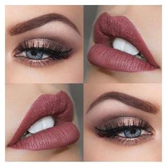 Makeup tips for Small Eyes 11 ways To make them look bigger! ❤ liked on Polyvore featuring beauty products, makeup, eyes and lips