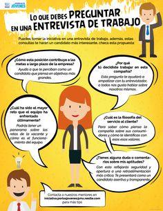5 preguntas que debes hacer en una entrevista de trabajo