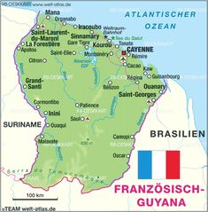 Guyana Reiseführer http://www.abenteurer.net/1811-guyana-reisefuehrer/