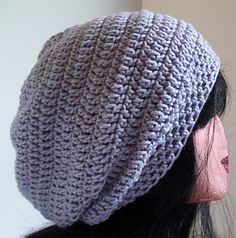 Orlando was my first published design and was named after my cat! It is a great basic super slouchy pattern. Look for a worsted weight yarn that will give the hat a soft drape. Mix it up with colors and you have one that men will wear as well as women. Crochet Slouchy Hat, Crochet Beanie Pattern, Crochet Blanket Patterns, Knitted Hats, Knitting Patterns, Slouchy Beanie, Hat Patterns, Crochet Blankets, Crochet Hat For Women
