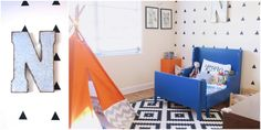 Nash's Eclectic Toddler Room - Project Nursery