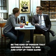 Be an ENCOURAGER. The world already is filled up with too many assholes who bring others down. Hustle and will to win is transferable! . . . #whatwouldharveydo #harveyspecter #gabrielmacht #suits #inspiration #life #win#winners #work #inspire #goals #encourage #motivationalquotes #hustle #hustler #harveyspecterquotes #wwhd