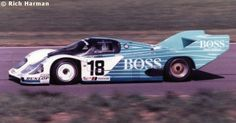RSC Photo Gallery - Silverstone 1000 Kilometres 1984 - Porsche 956 no.18 - Racing Sports Cars