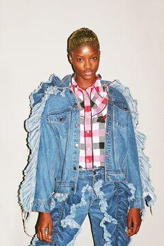 Ashish Fashion in Motion V and A Backstage 12. Photography Francesca Jane Allen