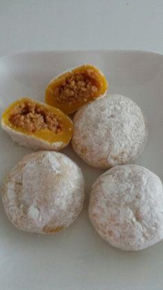 Kürbis Mochi/Pumpkin Mochi