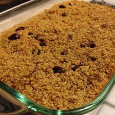Baked applesauce Oatmeal Recipe
