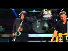 """New York State of Mind - He calls it the """"bridge and tunnel summit"""" - Bruce, E Street and Billy Joel and his amazing sax player (don't know his name but he's legendary too)"""