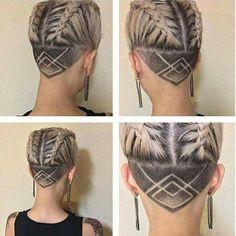 undercut frisuren ideen inspiration frauen styling rasieren bilder blond hair styles. Black Bedroom Furniture Sets. Home Design Ideas