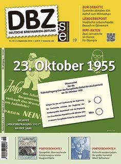 Titelbild Deutsche Briefmarken-Zeitung 19/2015
