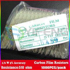 R/ésistances carbone 430K Ohms 1//4 Watts 200 // 5/%