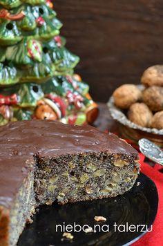 biszkopt makowy zjabłkami Polish Desserts, Polish Recipes, Cookie Desserts, No Bake Desserts, Xmas Food, Christmas Cooking, Sweet Recipes, Cake Recipes, Dessert Recipes
