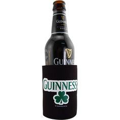 This awesome drink koozie is one of our most practical Guinness products! Not only does it pay tribute to everyone's favorite Irish stout, it does a phenomenal job of keeping your beer cold.