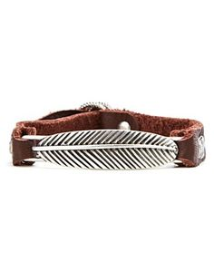 leather cuff bracelet. Nice and Pretty +dreadstop @DreadStop