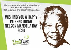There is nothing like returning to a place that remains unchanged to find the ways in which you have altered.  Wishing you a Happy International Nelson Mandela Day 2020  #limetimeshuttle #nelsonmandeladay