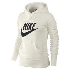 Sweat à capuche Nike Femmes Limitless Exploded Blanc cassé/Noir