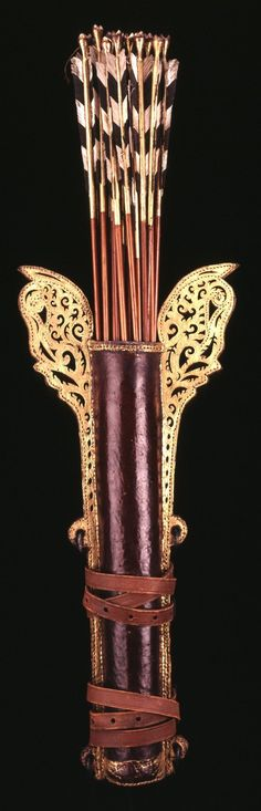 Quiver and arrows from Indonesia (Java), 19th century   British Museum