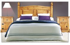 Dormitorio Matrimonio | Cabecero y Mesitas | muebles boom