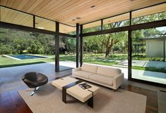 Family room opens to the outdoors   | Usual House