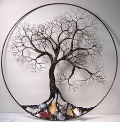 Pendentif raffin/é arbre de vie en argent 925 rhodi/é couleur or Magicmoon Mod/èle VTP10000303