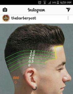Hair Cutting Videos, Hair Cutting Techniques, Popular Mens Hairstyles, Hairstyles Haircuts, Barber Haircuts, Haircuts For Men, Hair And Beard Styles, Short Hair Styles, Gents Hair Style