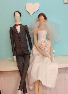 Projeto casal de bonecos NOIVOS