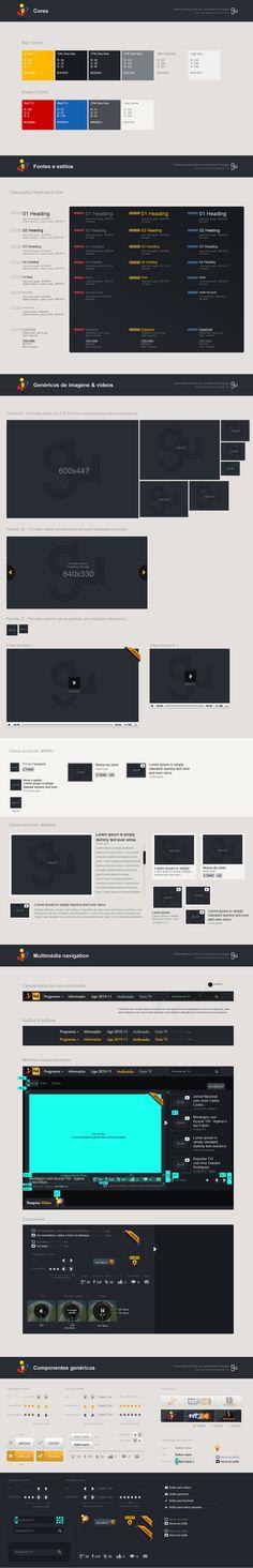 TVI Channel // Multimedia page Creative & UX/UI proposal by Foan82 2011-07