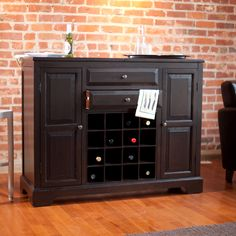 Have to have it. Belham Living Carlow Espresso Home Bar - $549.98 @hayneedle