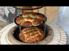 Outdoor Garden Bar, Outdoor Bbq Kitchen, Outdoor Oven, Wood Burning Oven, Wood Fired Oven, Vegetarian Snacks, Types Of Bread, Kitchen Oven, Grill Design
