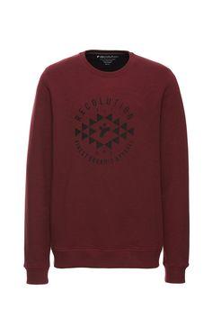 e836d0b29ebe recolution  Sweatshirt RECO EST  red  pullover  vegan  fairfashion   fairtrade