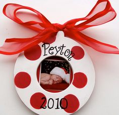 Love these personalized ornaments - $24.99