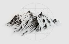 Illustrations - Andrew K. Kuypers #illustration #art #mountain www.akuypers.com: