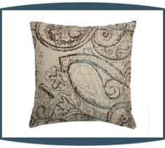 Dynasty Decorative Pillows in Oasis by Michael Amini