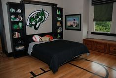 like the headboard. Perfect with 49ners/Giants logo