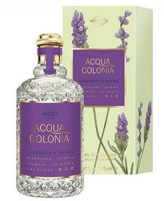 4711 Acqua Colonia Lavender & Thyme Maurer & Wirtz perfume - a fragrance for women and men 2009 Perfume Bottles, Cosmetics & Perfume, Lavender Soap, Lotion, 4711 Cologne, Body Care, Glamour, Purple Stuff, Perfume Collection