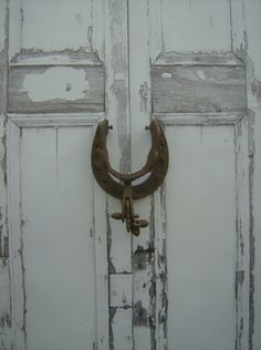 Rustic Door Knockers / Country Western Decor / by UrbanRusticDecor, $24.95