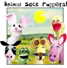 Sock puppet ideas