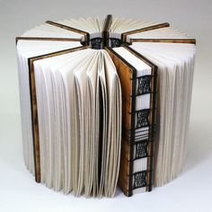 """Embracing Within"" : metaphorical book structure bookbinding by Erin Keane"