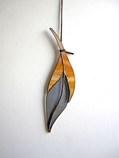 Small Stained Glass Feather by ColinAdrianGlass on Etsy https://www.etsy.com/listing/210441734/small-stained-glass-feather