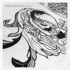 illustration by Sara fabel #tattoo art