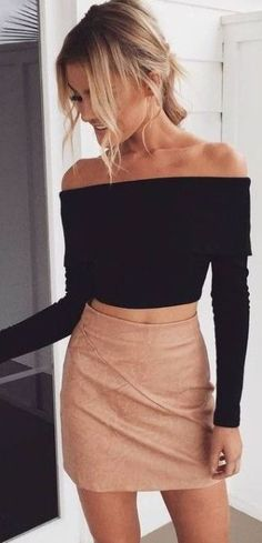 This is one the best cute outfits for a girls night out!