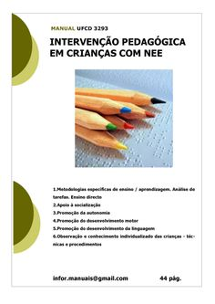 ufcd 3293 - Intervenção pedagógica em crianças com NEE Alpacas, Chart, Language Development, Learning, Pai, Activities, School, Log Projects