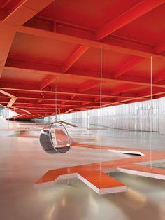 Interior do auditório em Cartagena
