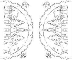 Afbeeldingsresultaat voor laubsägevorlagen schwibbogen