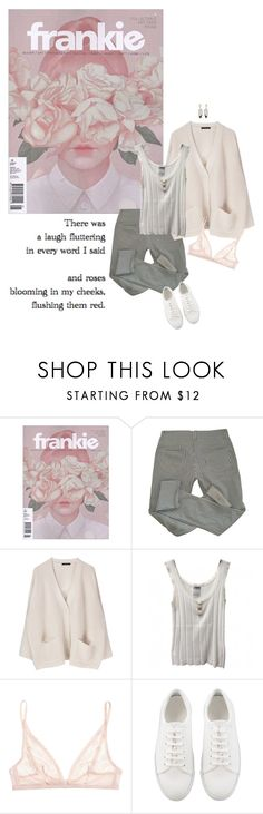 """""""Roses blooming in my cheeks"""" by tasteofbliss ❤ liked on Polyvore featuring Isabel Marant, Chanel, Calvin Klein Underwear and Monique Péan"""