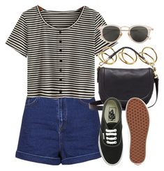 """""""Sin título #12436"""" by vany-alvarado ❤ liked on Polyvore featuring Topshop, ASOS, Mulberry, Vans and Issey Miyake"""