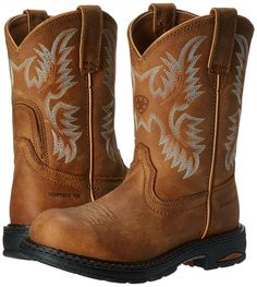 Ariat Women's Tracey Pull-On Composite Toe Work Boots 10008634