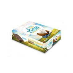 Rise Bar Energy Bar - Organic Blueberry Coconut - Case of 12 - 1.6 oz